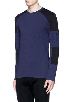 正面 -点击放大 - NEIL BARRETT - 拼色纯棉T恤