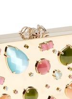 'Andy's Inheritance' jewel appliqué box clutch
