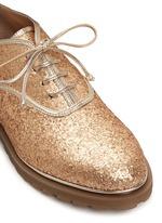 'Stefania' glitter Oxfords