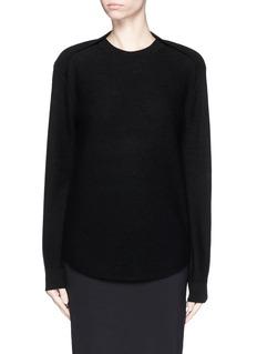 ALEXANDER WANG Cellophane stripe wool-cashmere sweater