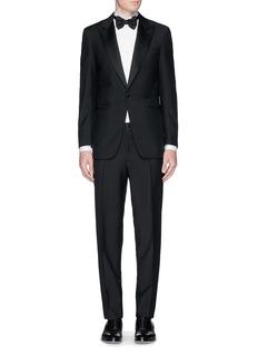 ISAIA Wing tip bib tuxedo shirt