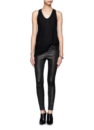 Figure View - Click To Enlarge - T By Alexander Wang - Racer back tank top