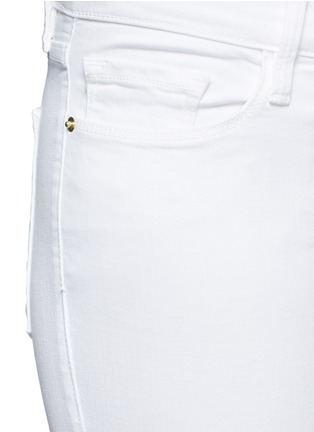 Detail View - Click To Enlarge - Frame Denim - 'Le Color' skinny jeans