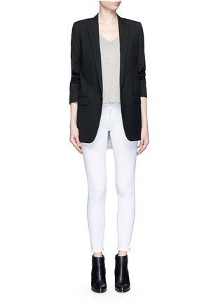 Figure View - Click To Enlarge - Frame Denim - 'Le Color' skinny jeans