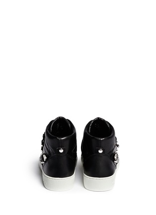 Back View - Click To Enlarge - Michael Kors - 'Robin' high top leather sneakers