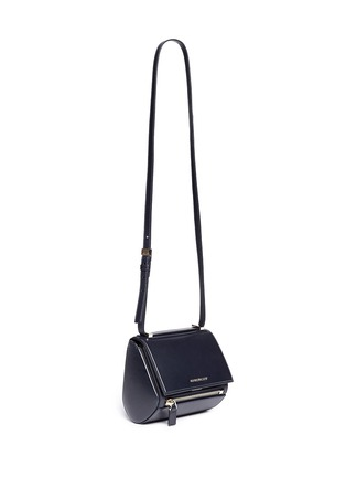Front View - Click To Enlarge - Givenchy - 'Pandora Box' mini leather bag