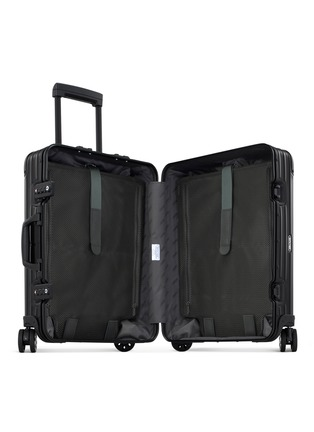 Detail View - Click To Enlarge - RIMOWA - Topas Stealth Cabin Multiwheel® (Black, 45-litre)