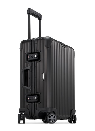 RIMOWA-Topas Stealth Cabin Multiwheel® (Black, 45-litre)