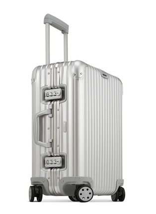 Figure View - Click To Enlarge - RIMOWA - Topas Cabin Multiwheel® (Silver, 45-litre)