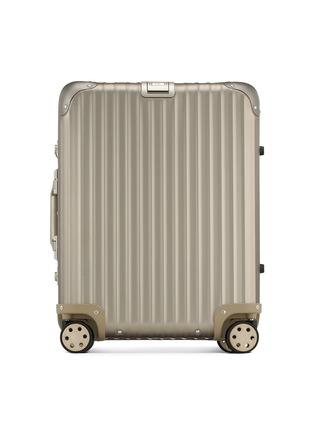 Main View - Click To Enlarge - RIMOWA - Topas Titanium Cabin Multiwheel® (Titanium, 45-litre)