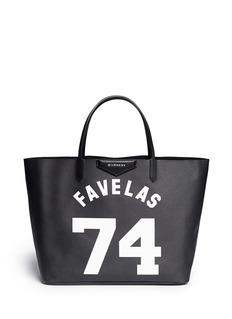 GIVENCHY'Antigona' Favelas 74 print shopping tote