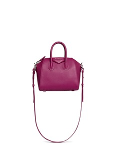 GIVENCHY 'Antigona' mini leather satchel