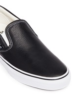 'Classic LX' leather skate slip-ons