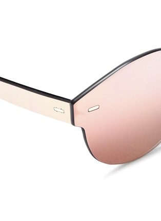 Detail View - Click To Enlarge - SUPER - 'Tuttolente Paloma' rimless all lens sunglasses
