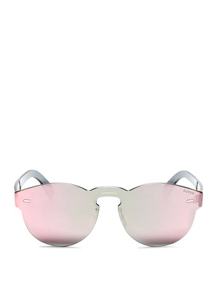 Main View - Click To Enlarge - SUPER - 'Tuttolente Paloma' rimless all lens sunglasses
