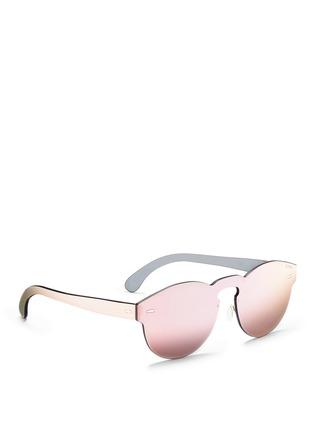 Figure View - Click To Enlarge - SUPER - 'Tuttolente Paloma' rimless all lens sunglasses