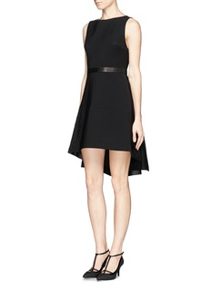 ALICE + OLIVIA 'Colby' high-low cascade dress