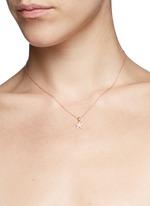 'Star' diamond pendant necklace