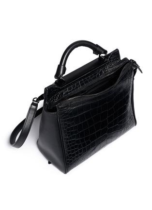 细节 - 点击放大 - 3.1 PHILLIP LIM - 'Ryder' small alligator leather satchel