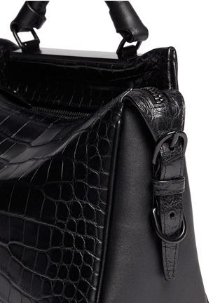 3.1 Phillip Lim-'Ryder' small alligator leather satchel