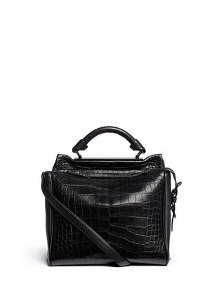 首图 - 点击放大 - 3.1 PHILLIP LIM - 'Ryder' small alligator leather satchel