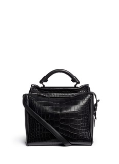 3.1 PHILLIP LIM 'Ryder' small alligator leather satchel