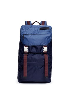 Marni Colourblocked tech fabric backpack