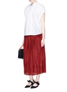 The Row'Juri' plissé pleated silk skirt