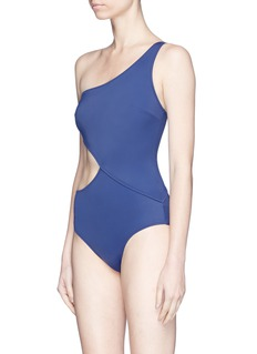 Solid & Striped 'The Claudia' one-shoulder one-piece swimsuit