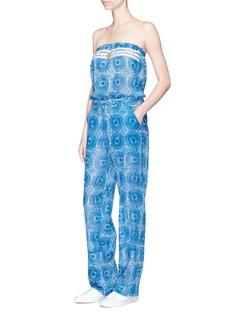 Lemlem'Makena' radial print strapless jumpsuit