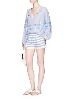 Lemlem'Assaman' stripe woven shorts