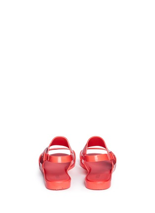 Back View - Click To Enlarge - Melissa - 'Classy Ad' slingback sandals