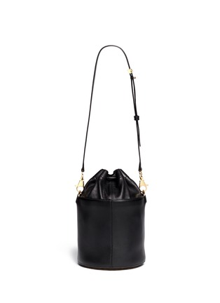Back View - Click To Enlarge - Alexander Wang  - Stud leather bucket bag