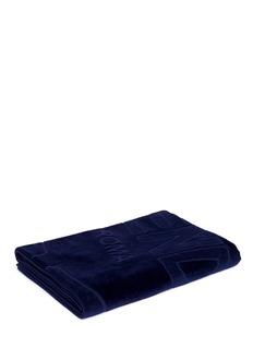 FendiLogo jacquard beach towel