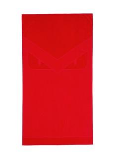 Fendi'Bugs' jacquard beach towel