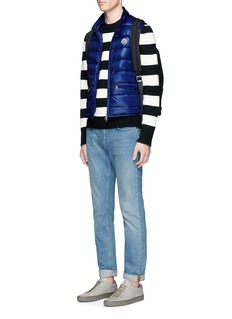 Moncler'Gui' quilted down puffer vest