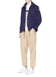 Moncler 'Adrien' double layer coach jacket