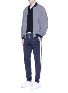 Moncler Contrast outseam track pants