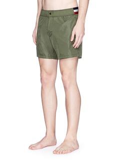 Moncler Contrast waist swim shorts