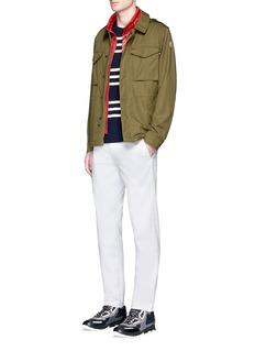 Moncler 'Auguste' detachable quilted vest field jacket