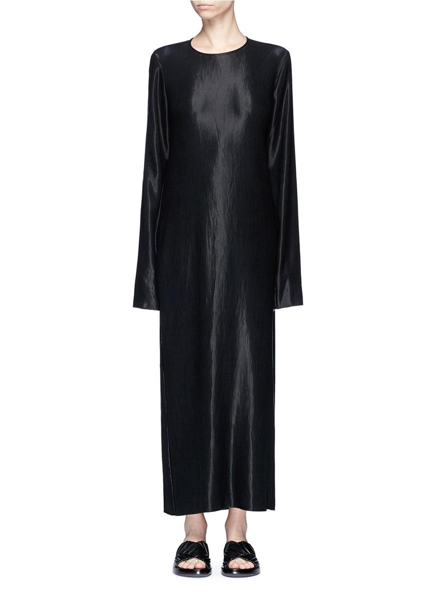 Crystal plissé pleated dress by Georgia Alice