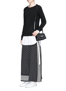 Stella McCartneyPolka dot and stripe print silk pants