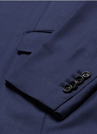 - Lardini - 'Leisure' regular fit wool suit