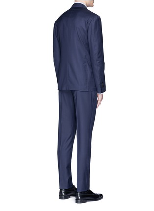 Back View - Click To Enlarge - Lardini - 'Leisure' regular fit wool suit