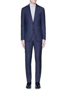 Lardini'Leisure' regular fit wool suit