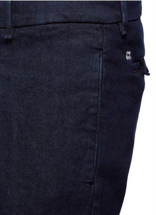 Detail View - Click To Enlarge - Lardini - Regular fit cotton denim pants