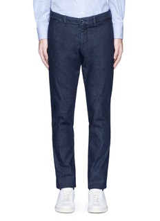 LardiniRegular fit cotton denim pants