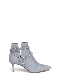 Valentino 'Rockstud' suede ankle boots