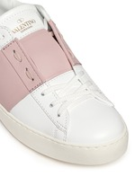 'Rockstud' colourblock leather sneakers