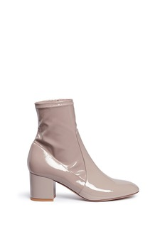 ValentinoStretch patent leather boots